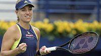 Angelique Kerberová by měla být největší hrozbou pro české tenistky.