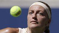 Petra Kvitová se přes Číňanku Wang Ja-fan probila do třetího kola US Open.