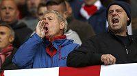 Nespokojení fanoušci Sunderlandu.