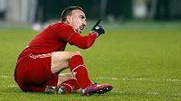 Franck Ribéry byl překvapenm, jak snadno na hřišti Arsenalu Bayern zvítězil.