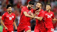 Fotbalisté Tuniska - ilustrační foto.
