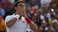 Srbský tenista Novak Djokovič se utká ve finále US Open s Rafaelem Nadalem.