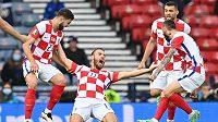 Chorvatská gólová radost. Kolikrát u nich propukne proti Španělsku?