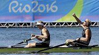 Veslaři Eric Murray a Hamish Bond z Nového Zélandu potvrdili svoji dominanci i na olympiádě v Riu.