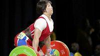 Vzpěračka Lim Čong-sim z KLDR ovládla v Riu soutěž ve váze do 75 kg.