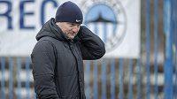 Fotbalisté libereckého Slovanu zahájili zimní přípravu. Na snímku je trenér Pavel Hoftych.