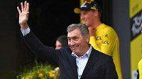 Legendární belgický cyklista Eddie Merckx jako host na Tour de France.