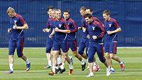 Trénink ruské reprezentace před utkáním s Českou republikou na EURO 2012