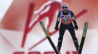 Rakouský skokan na lyžích Andreas Kofler v ruském Soči