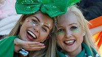 Dobře naladěné fanynky Irska.