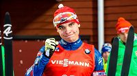 Český biatlonista Michal Krčmář si v Östersundu dojel pro životní výsledek.
