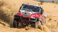 Aleš Loprais na Silk Way Rallye