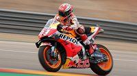Španěl Marc Márquez měl těžký pád v prvním tréninku na Velkou cenu Thajska silničních motocyklů. (ilustrační foto)