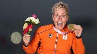 Nizozemská handicapovaná sportovkyně Jennette Jansenová