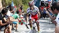 "Joaquim ""Purito"" Rodríguez ze Španělska při 15. etapě Vuelty."