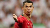 Portugalská hvězda Cristiano Ronaldo