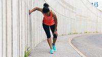 Svalová horečka vás může potkat i po běhání.