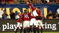 Fotbalisté Manchesteru United by se brzy mohli radovat z gólů Angela Di Maríi.