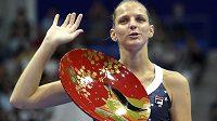 Karolína Plíšková po vítězství na turnaji v Tokiu