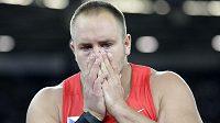 Smutný Tomáš Stěněk. Ke světovému bronzu chybělo českému koulaři pouhých pět centimetrů.