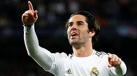 Střelec jediného gólu Realu Madrid - Isco.