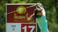 Golfistka Klára Spilková na turnaji Ladies European Tour v Rabatu.