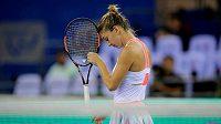 Rumunská tenistka Simona Halepová na Petru Kvitovou tentokrát nestačila.