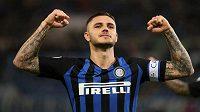 Kapitán Interu Milán Mauro Icardi.