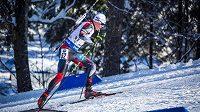 Michal Krčmář bojuje ve sprintu na 10 km