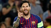 Lionel Messi patří k hlavním hvězdám Barcelony