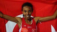 Turecká vytrvalkyně Elvan Abeylegesseová.