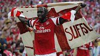 Obránce Bacary Sagna potvrdil, že definitivně odloží dres Arsenalu.