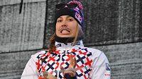 Česká reprezentantka ve snowboardingu Eva Samková.
