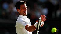Obhájce titulu Novak Djokovič zvládl i druhý zápas ve Wimbledonu ve třech setech.
