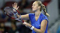 Petra Kvitová se na turnaji v Pekingu probojovala už do semifinále.