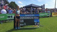 Oštěpařka Nikola Ogrodníková vyhrála mítink v Offenburgu v osobním rekordu 67,40 metru.