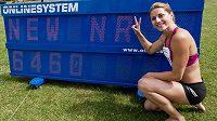 6460 bodů. Eliška Klučinová vyhrála sedmiboj v Kladně v novém českém rekordu.