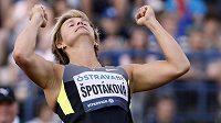 Barbora Špotáková porazila v Římě všechny soupeřky