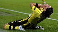 Nešťastný fotbalista Borussie Dortmund Neven Subotič.