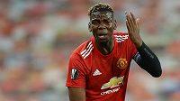 Fotbalista Manchesteru United Paul Pogba si pořádně rýpl do bývalého kouče.