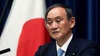 Japonský premiér Jošihide Suga