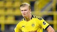 Dortmundský kanonnýr Erling Haaland.