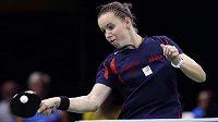 Stolní tenistka Iveta Vacenovská na olympiádě v Riu.