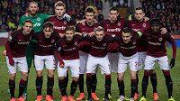 Mužstvo Sparty před derby se Slavií.