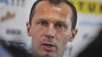Trenér Baníku Radoslav Látal byl po zápase s Olomoucí hodně naštvaný.