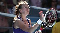 Petra Kvitová po postupu do třetího kola Australian Open