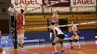 Prostějovské volejbalistky postoupily přes KP Brno do finále extraligy a přiblížily se devátému titulu v řadě.