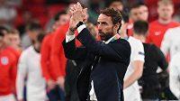 Potlesk a slova díky adresoval fanouškům i hráčům svého týmu. Trenér anglických fotbalistů Gareth Southgate pak vzal na sebe plnou zodpovědnost za neúspěšný penaltový rozstřel ve finále mistrovství Evropy s Itálií.