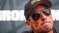 Bývalý slavný cyklista a dopingový hříšník Lance Armstrong.
