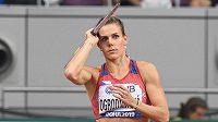 Oštěpařka Nikola Ogrodníková nesplnila na atletickém mistrovství světa v Dauhá kvalifikační limit.